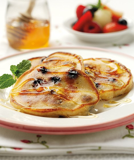 Fruity Buttermilk Pancake Recipe