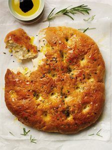 Garlic & Rosemary Focaccia Style Bread Recipe