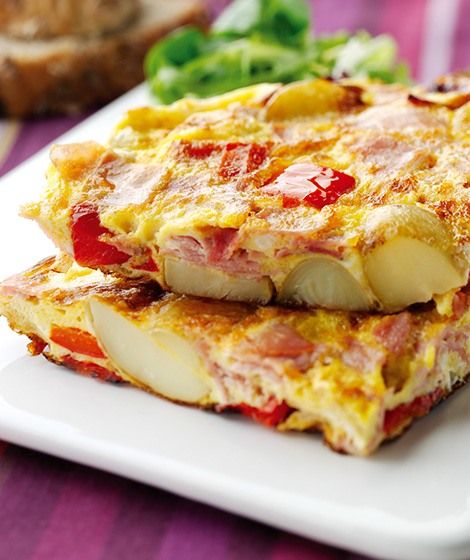 Oak Smoked Ham & Pepper Frittata Recipe Oak Smoked Ham & Pepper Frittata Recipe