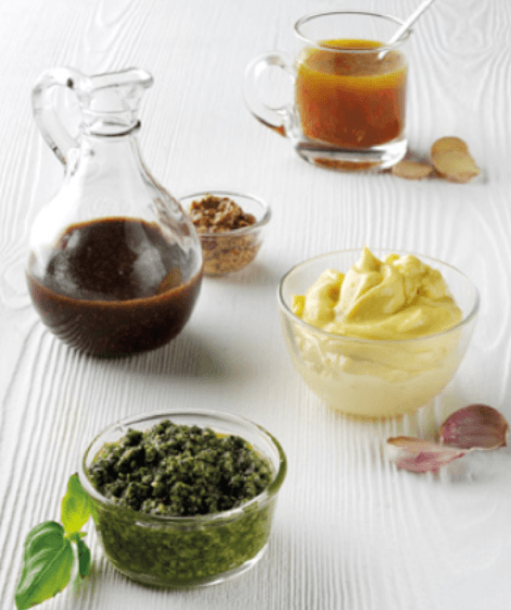 Rapeseed Oil Sauces